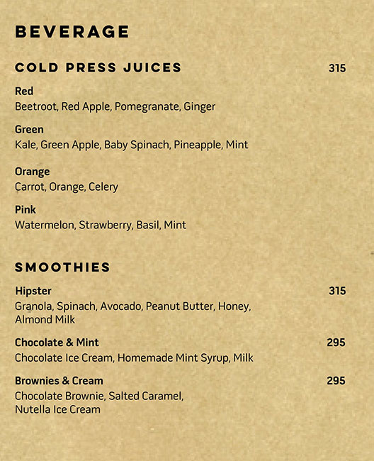 OLLY-Olive's All Day Cafe menu 7