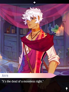 The Arcana: A Mystic Romance - Interactive Story Screenshot