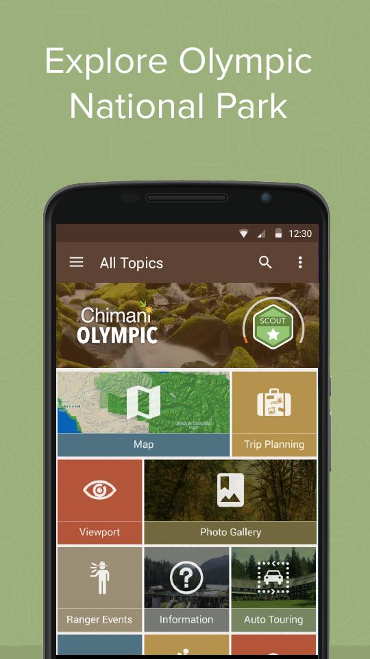 Скриншот Olympic Ntl Park by Chimani
