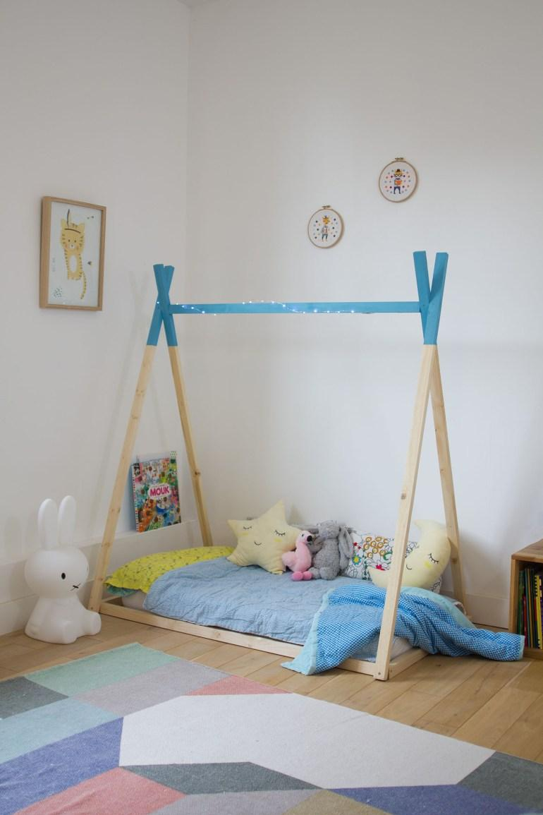 your children's very own tipi tent bed frame