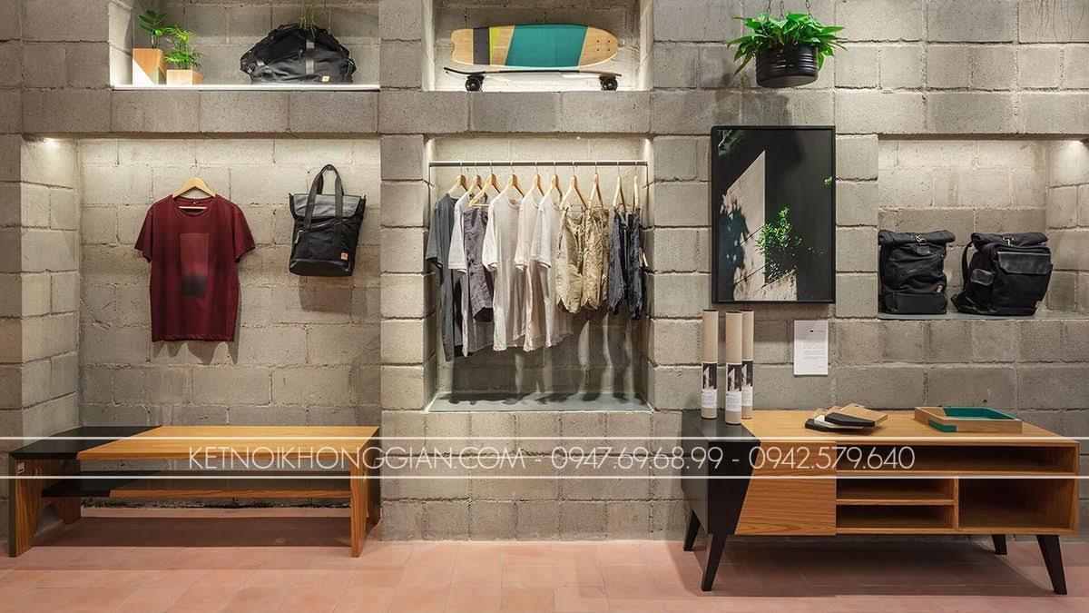 thiết kế shop thời trang Itsu 3