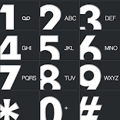 GRAY big button EXDialer theme
