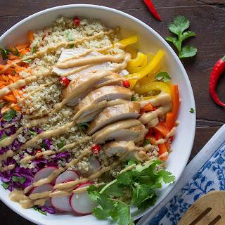 Thai Chicken Quinoa Salad
