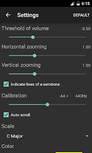 Vocal Pitch Monitor- screenshot thumbnail