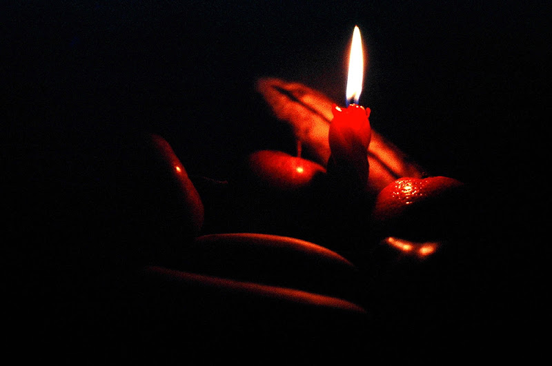Frutta a lume di candela di Toninola
