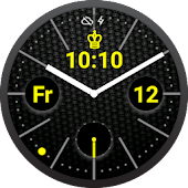 Carbon Royale Watch Face