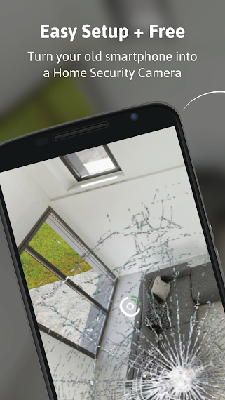 Turn your old phone into Free Home Security Camera - 3G/4G or WiFi
