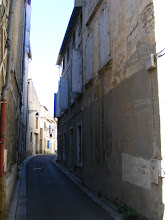Photo: A very quiet residential street in Old Arles.