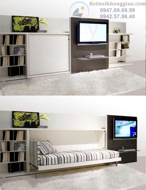 thiết kế nội thất thông minh tiện lợi
