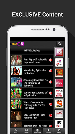 nexGTv HD:Mobile TV, Live TV 3.9 screenshot 220853