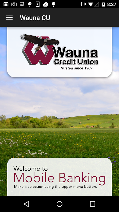 Wauna Credit Union- screenshot