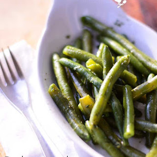 Bohnensalat - German Green Bean Salad