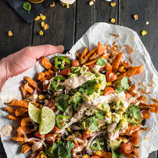 Loaded Food Truck Mexican Nacho Fries.