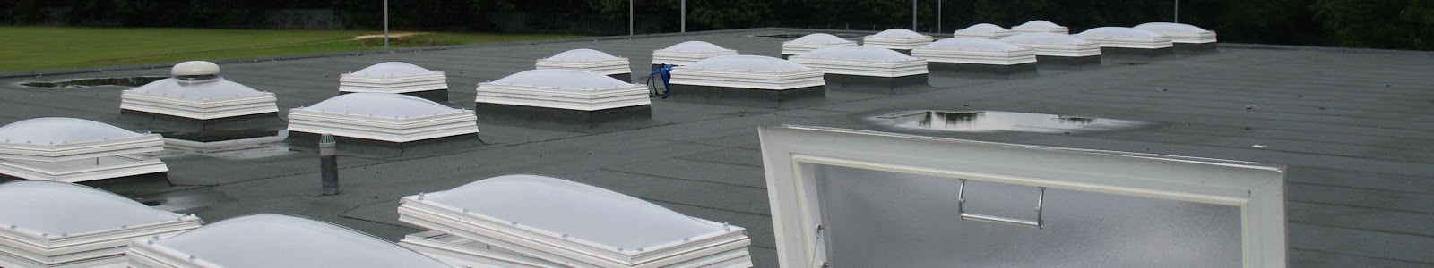 a high performance flat roof