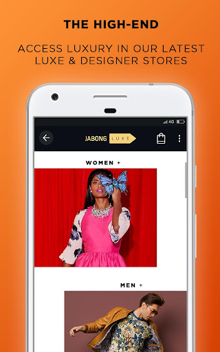 Jabong Online Shopping App - screenshot