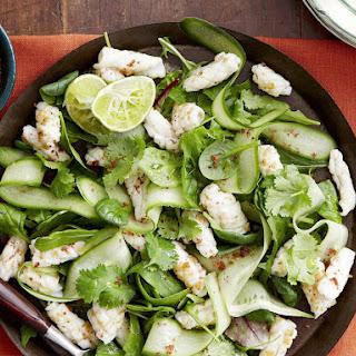 Squid Salad with Sumac Salt