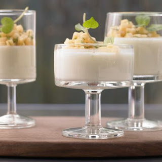 Buttermilk and Lime Mousse.