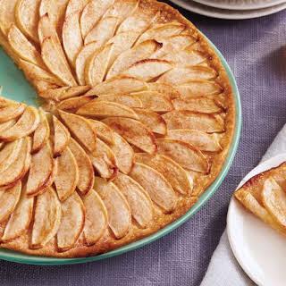 Thin French Apple Tart.
