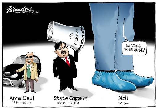 CARTOON: NHI corruption giant