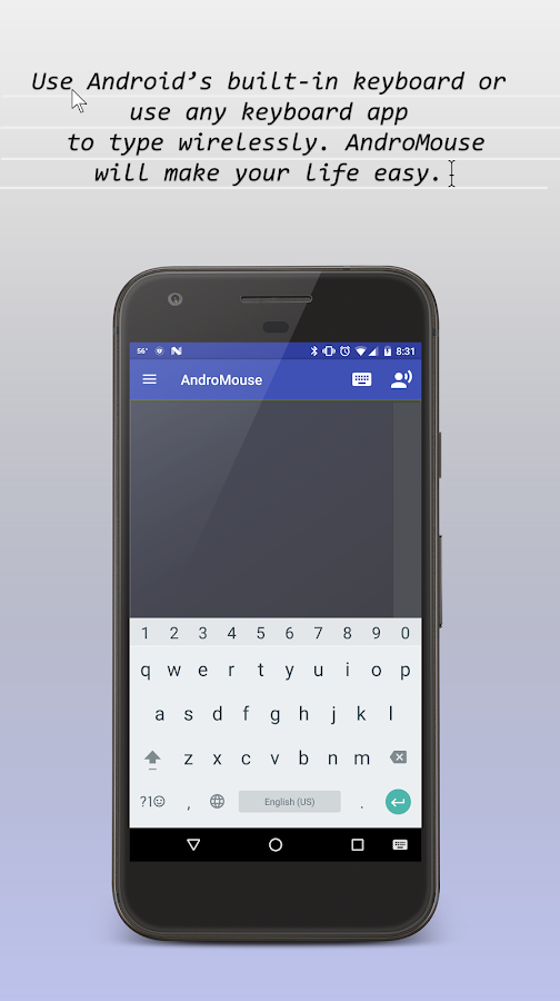 Remote Mouse Keyboard and More- screenshot