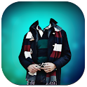 Winter Men Photo Suit icon