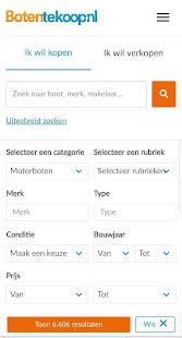 Botentekoop.nl - náhled