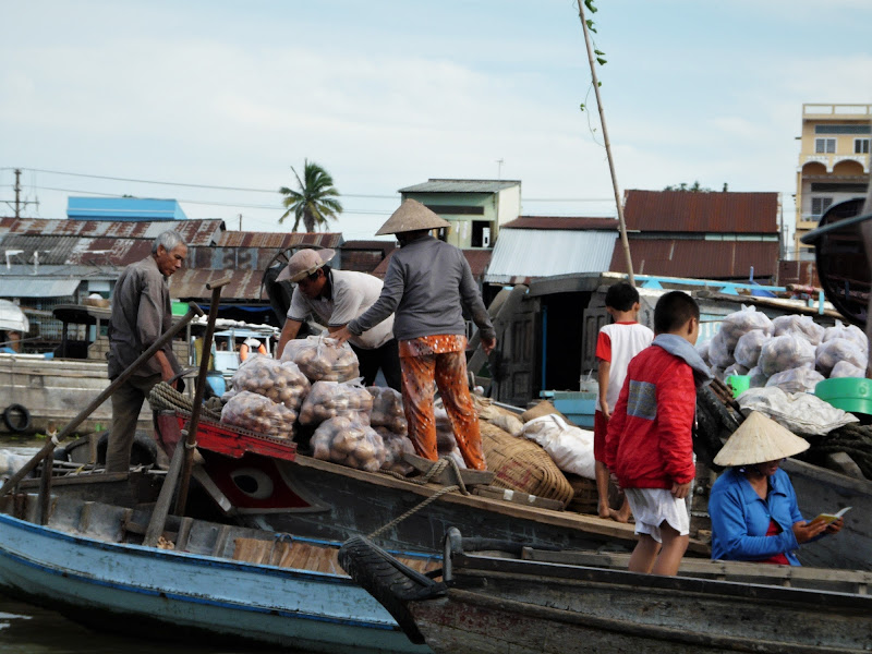 Mercato sul Mekong di MLT