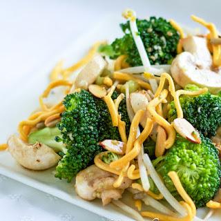 Broccoli Mushroom Salad.