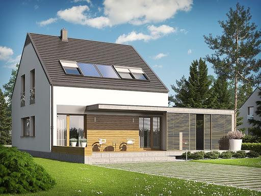 projekt E8 z wiatą Energo Plus