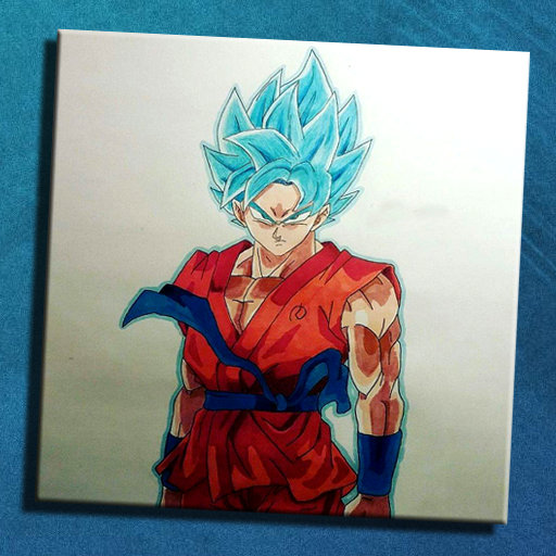 How To Draw Goku Blue Apk Download Apkpure Co