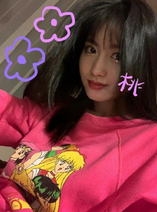 Momo-Twicetagram-Post