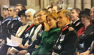 Photo: Some of the VIPs during the service
