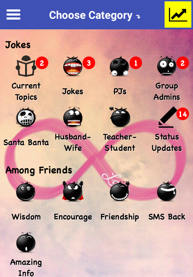 WDF! App- screenshot