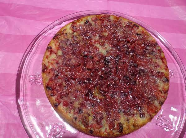 Cranberry Pie Recipe