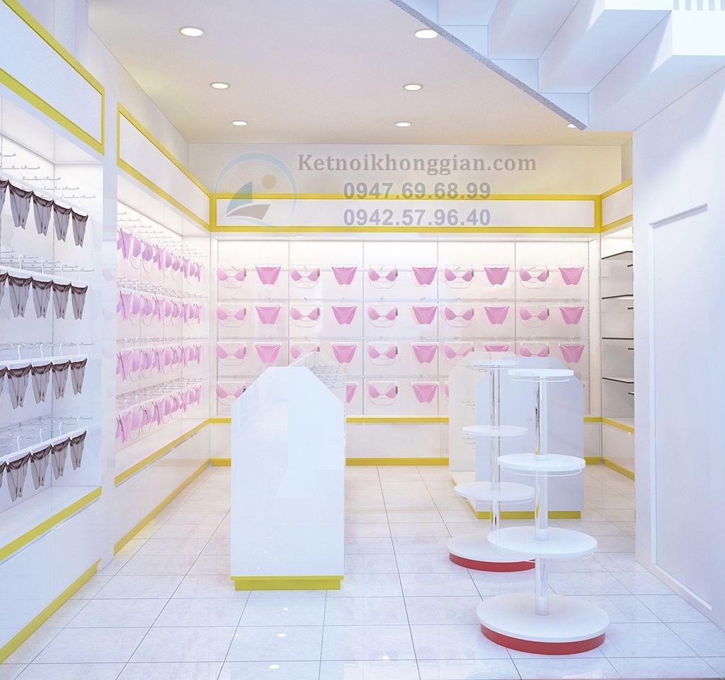 thiết kế nội thất cửa hàng tạp hóa cao cấp, trẻ trung
