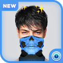 Cagoule Mask Half Face | Ghost Face Mask icon