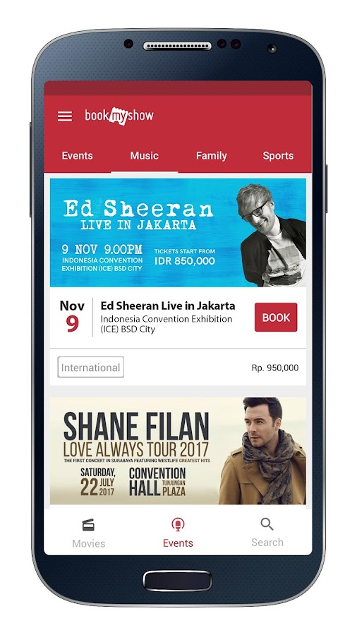 BookMyShow - Tiket Bioskop- screenshot