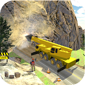 Tunnel Construction Crane Simulator 2018