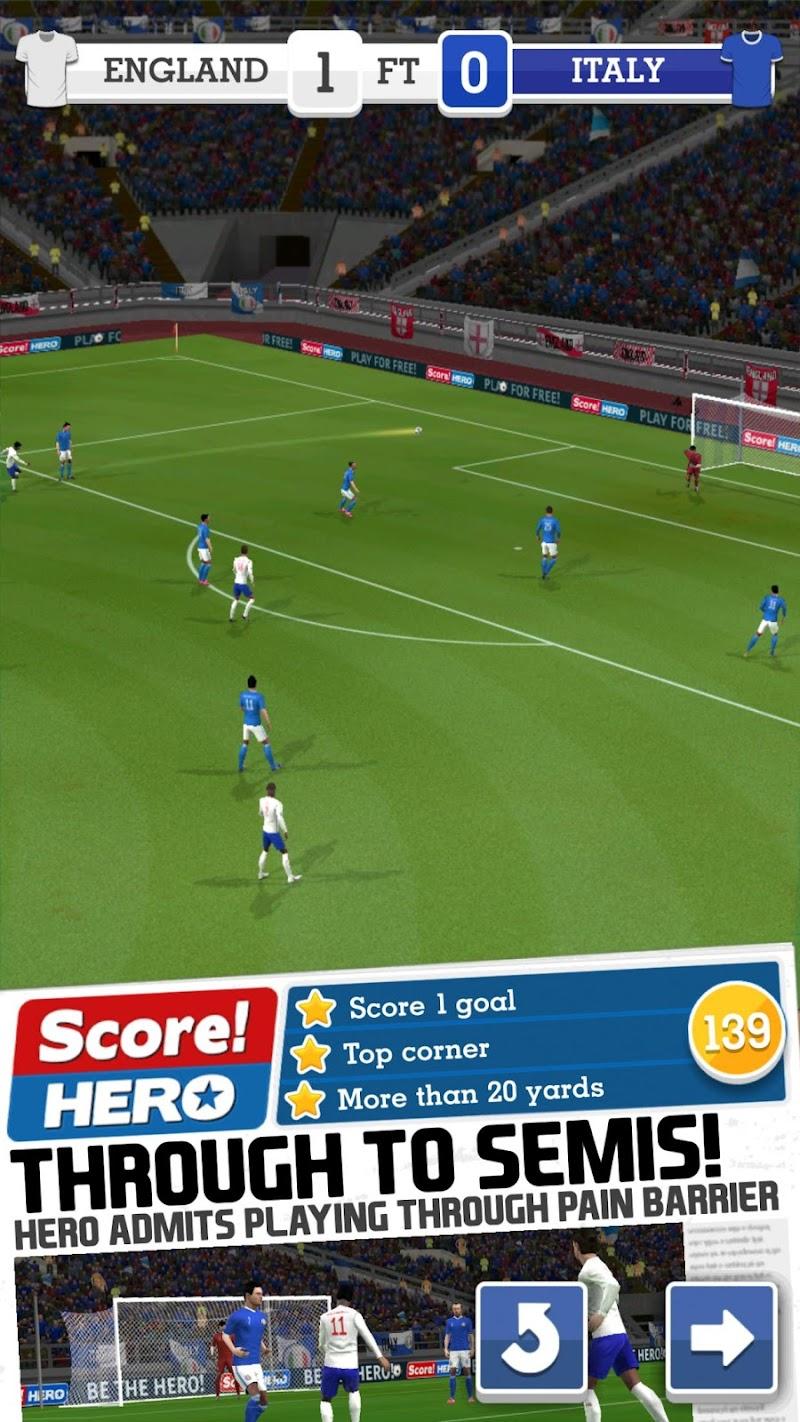 Score! Hero Screenshot 0