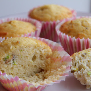 Rosewater and Pistachio Muffin (Coconut Flour)