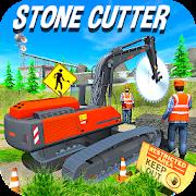 Heavy Excavator Stone Cuter Sotne Cargo
