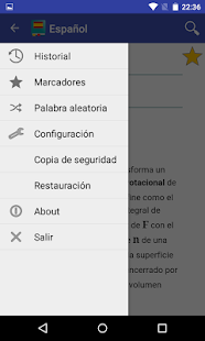 Spanish Dictionary - Offline- screenshot thumbnail
