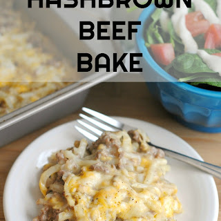 Hashbrown Beef Bake.