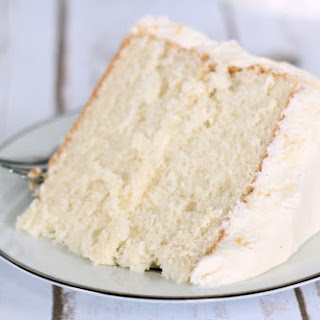 Easy White Sour Cream Cake.