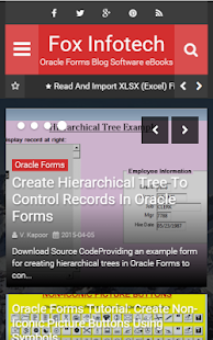 Fox Infotech - Oracle Forms Apk Download