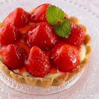 Erdbeertörtchen / Erdbeertartelettes