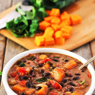 Black Bean Butternut Squash Stew.