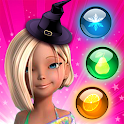 Bubble Girl Candy Puzzle Games icon
