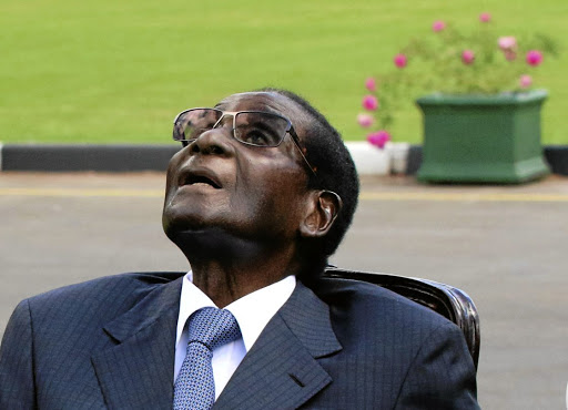 E TU, BRUTES? Zimbabwean President Robert Mugabe has to resign by Monday or face impeachment Picture: Philimon Bulawayo