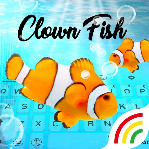 Clown Fish Keyboard Theme